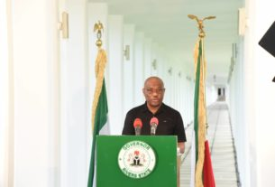 A STATEWIDE BROADCAST BY HIS EXCELLENCY NYESOM EZENWO WIKE, CON, GSSRS, POS, TO MARK THE FIRST YEAR OF HIS SECOND TERM IN OFFICE
