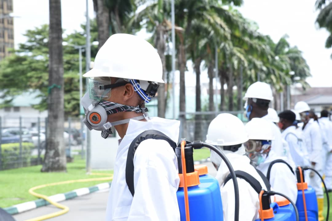 Gov Wike: Public Places Must Be Decontaminated Before They Can Reopen