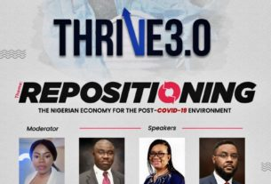 THRIVE 3.0: Repositioning the Nigerian Economy for the Post-COVID-19 Environment