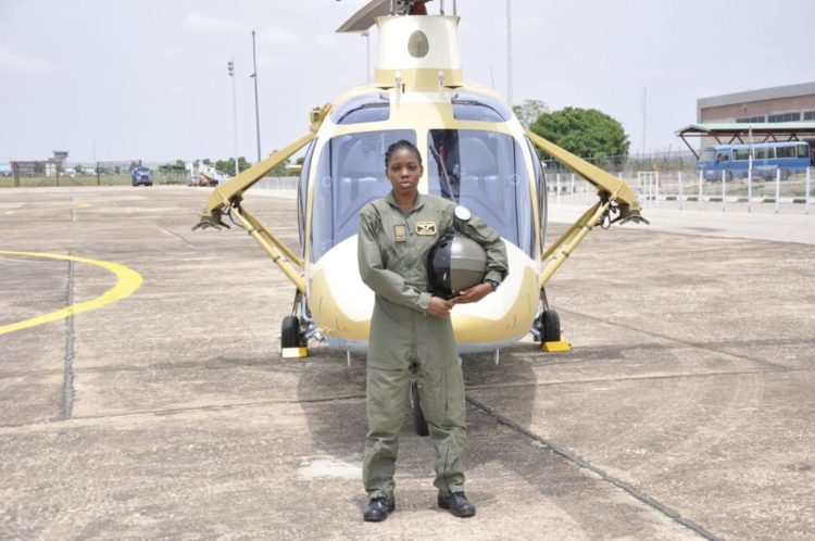 Nigeria's First Female Combat Helicopter Pilot Dead!