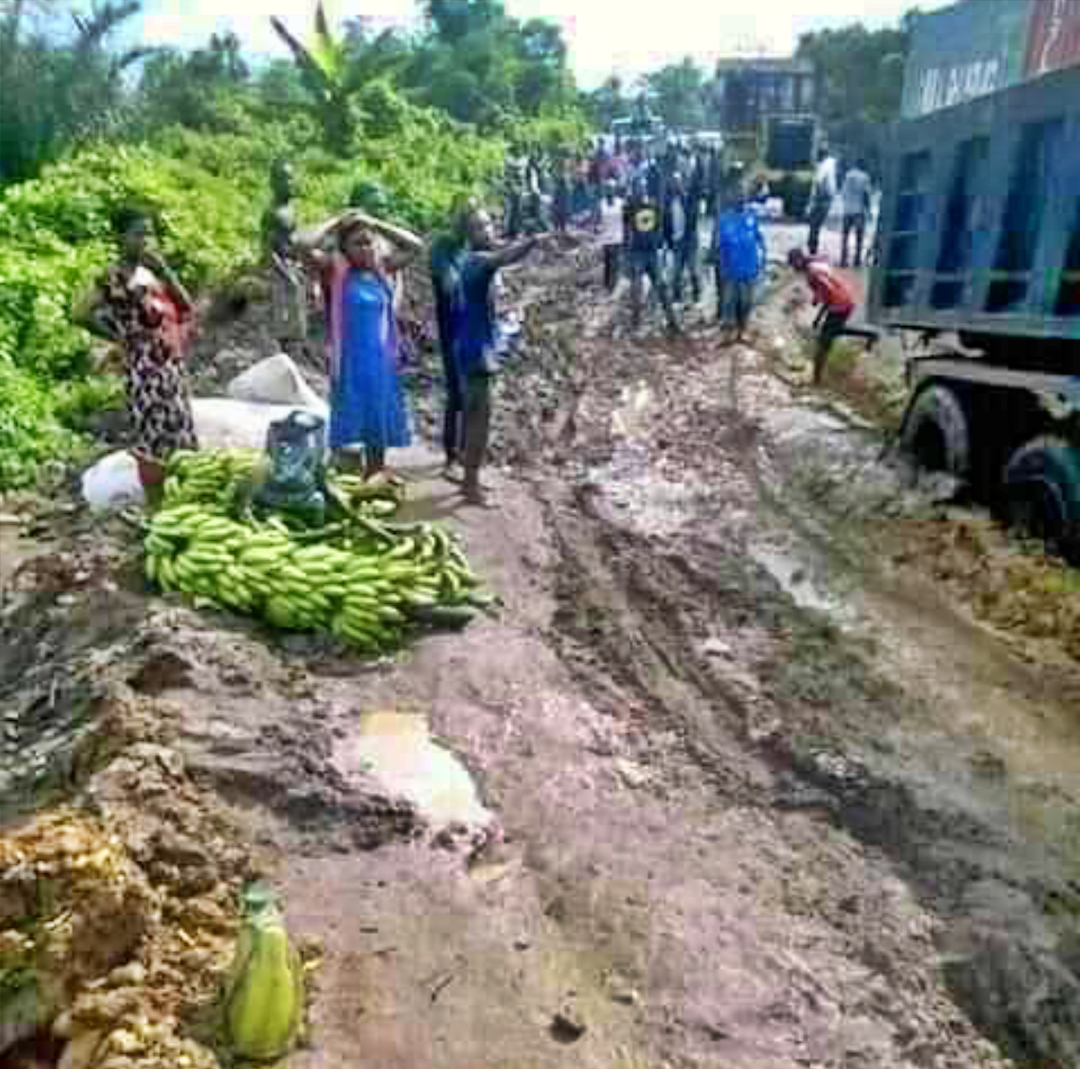 PHOTOS: Dear Gov. Wike, Is This The State of Roads in Etche?