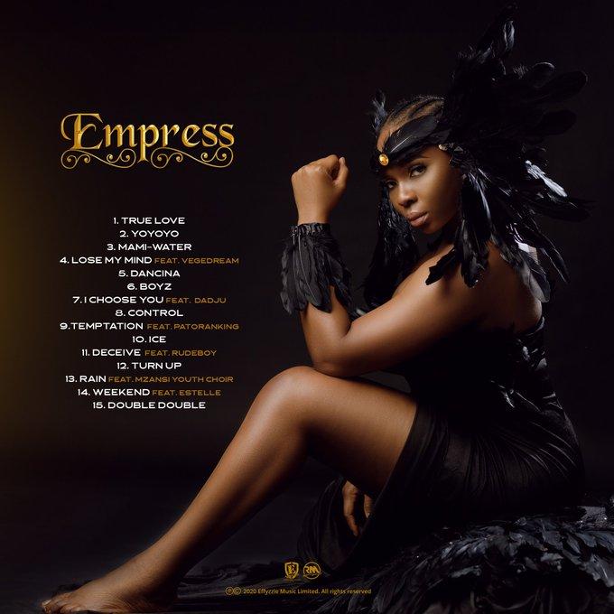 """Yemi Alade unveils """"EMPRESS"""" tracklist"""