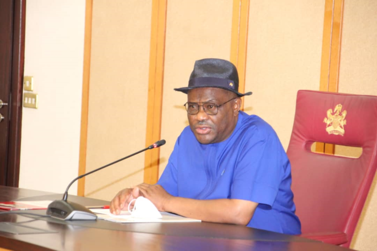 GOV WIKE IMPOSES NIGHT CURFEW AT ALL RIVERS' LAND BOARDERS