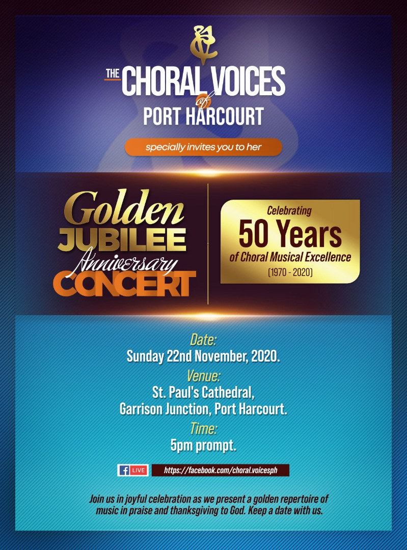 Choral Voices of PH Celebrates 50 Years of Musical Excellence in CONCERT