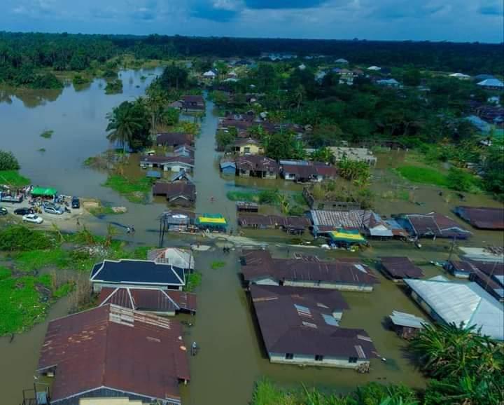 Orashi, Engenni Kingdom ravaged by Flood (Photos)